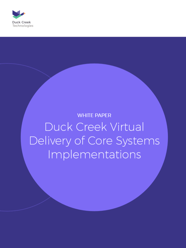 Duck Creek Virtual Delivery