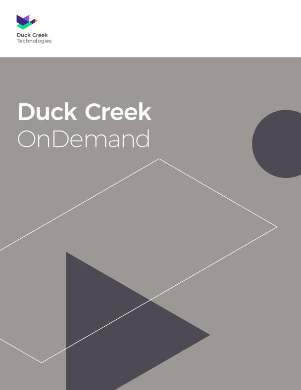 Duck Creek OnDemand LP resource photo