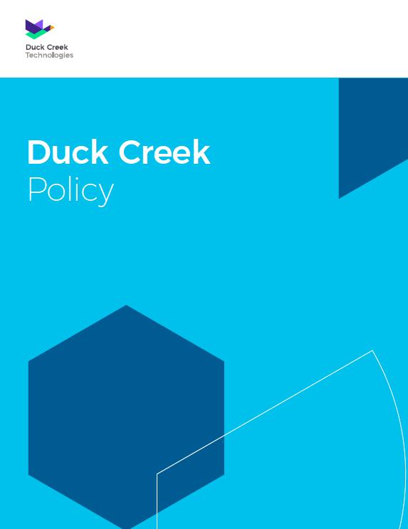 Duck Creek Policy resource photo
