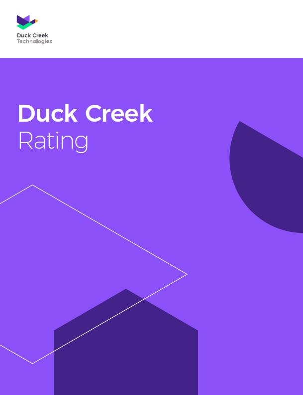 Duck Creek Rating resource photo